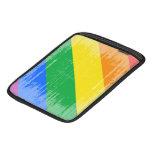 DISEÑO APENADO DIAGONAL DEL ORGULLO GAY FUNDA PARA iPads