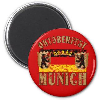 Diseño apenado Munich de la mirada de Oktoberfest Imán