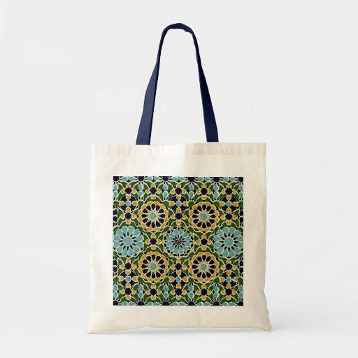 Diseño árabe #10 en Emporio Moffa Bolsa Tela Barata