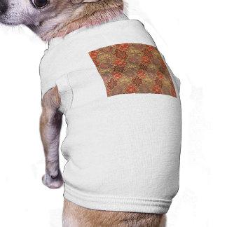 Diseño árabe de la alfombra camisas de mascota