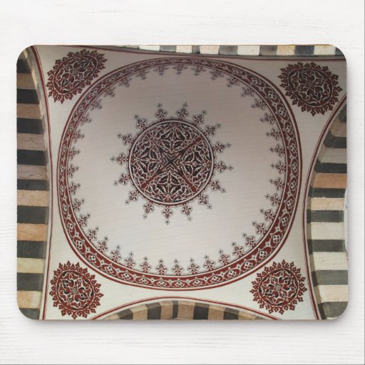 Diseño árabe interior del estilo tapetes de ratones
