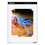 Diseño ardiente de la mujer skin para el iPad 2