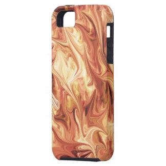 Diseño ardiente iPhone 5 carcasas
