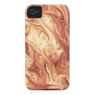 Diseño ardiente Case-Mate iPhone 4 coberturas