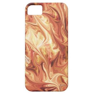 Diseño ardiente iPhone 5 funda