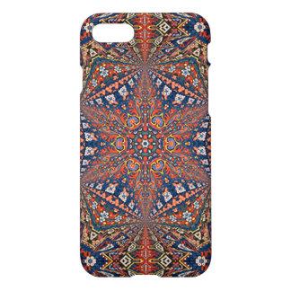 Diseño armenio caleidoscópico de la alfombra funda para iPhone 7