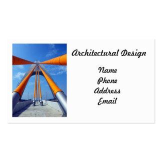 Diseño arquitectónico moderno plantilla de tarjeta personal