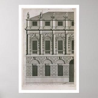 Diseño arquitectónico que demuestra el propo de Pa Póster
