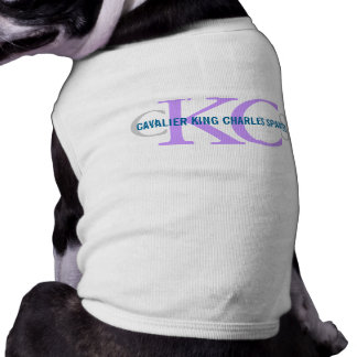 Diseño arrogante del monograma del perro de aguas  ropa perro
