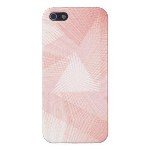 Diseño artsy del pomelo rosado iPhone 5 cárcasa