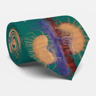 Diseño artsy único #14 del riñón del lazo del corbatas personalizadas