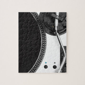 diseño ascendente del cierre de la placa giratoria rompecabeza con fotos