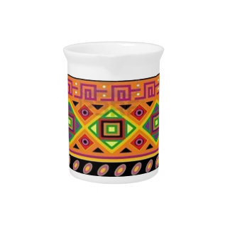 Diseño asequible popular del modelo azteca jarrones