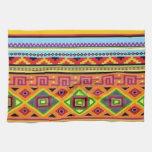 Diseño asequible popular del modelo azteca toalla de mano