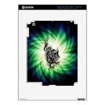 Diseño asiático del dragón; fresco iPad 3 skin
