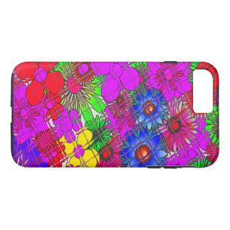 Diseño asombroso colorido hermoso a del estampado funda iPhone 7 plus