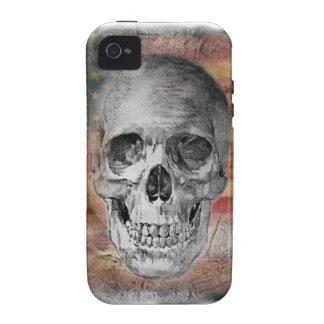 Diseño asombroso del cráneo en el caso del iPhone  iPhone 4/4S Carcasa