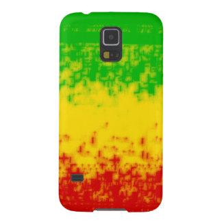 Diseño áspero de Rasta Carcasa Galaxy S5