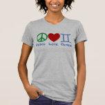Diseño astrológico de los géminis del amor de la p camisetas