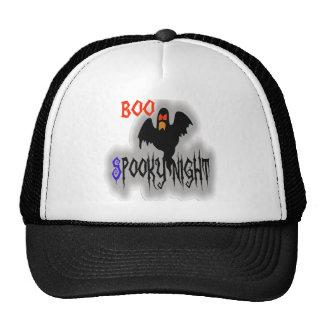 Diseño asustadizo del gorra de Halloween de las