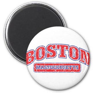 Diseño atlético de Boston Imán Redondo 5 Cm