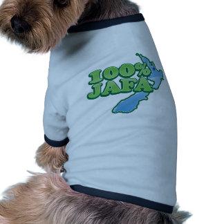 Diseño AUCKLAND del kiwi del 100 JAFA NUEVA ZELAN Camisetas Mascota