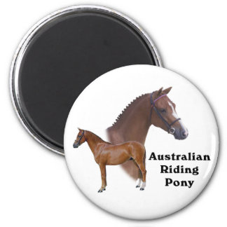 Diseño australiano del potro imán redondo 5 cm