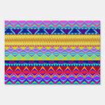 Diseño azteca colorido