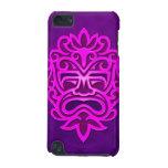 Diseño azteca de la máscara - púrpura