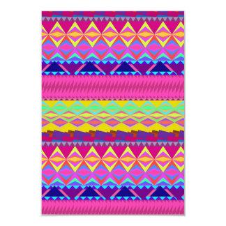 Diseño azteca de moda lindo femenino de los Andes Comunicados Personales