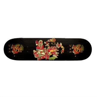 Diseño azteca fresco patín