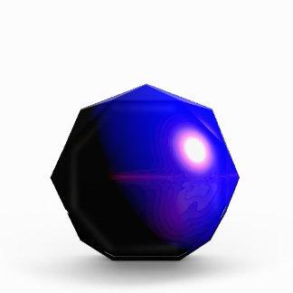 Diseño azul 3D del planeta