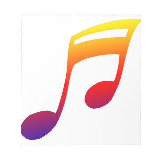 Diseño azul amarillo rojo de la música de las octa bloc de papel