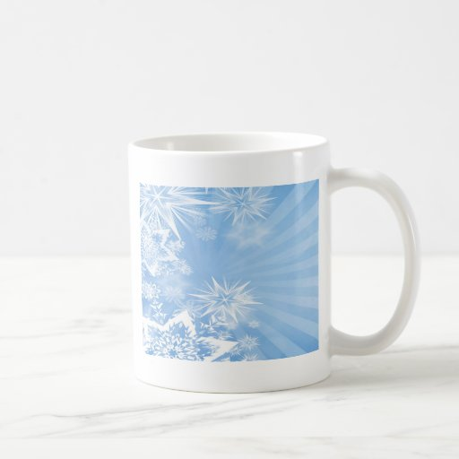 Diseño azul claro 2 del resplandor solar de los tazas