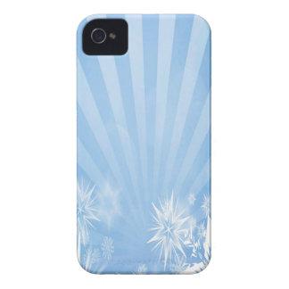 Diseño azul claro del resplandor solar de los iPhone 4 Case-Mate funda