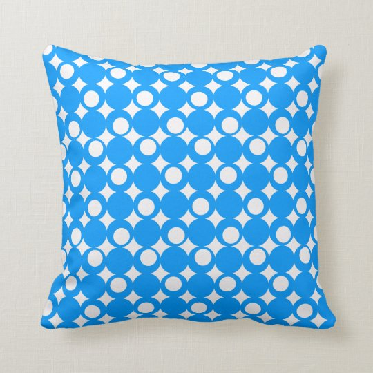 Diseño azul claro @ Emporio Moffa de la bola de la Cojín Decorativo