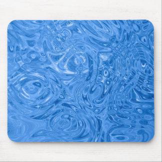 diseño azul de la aguamarina alfombrilla de ratones
