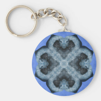 ¡Diseño azul de la chispa de Geode! Llaveros
