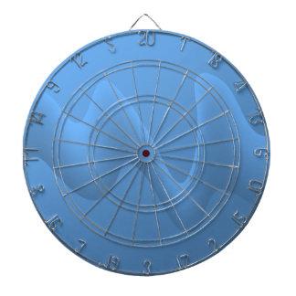 Diseño azul de la imagen del extracto de la onda tabla dardos