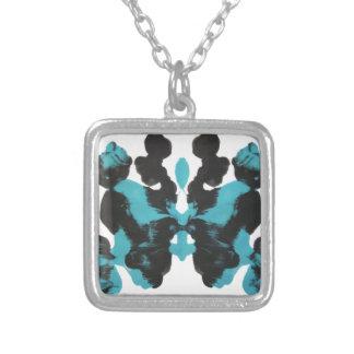 Diseño azul de la mancha de tinta de miércoles colgantes