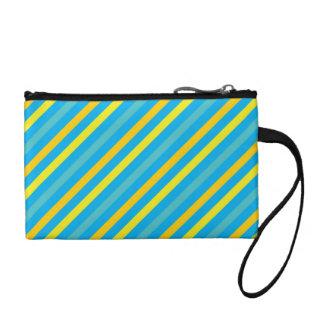 Diseño azul de la raya diagonal multi