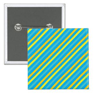 Diseño azul de la raya diagonal multi pin cuadrado