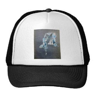 diseño azul del arte del bailarín del arte de la gorro