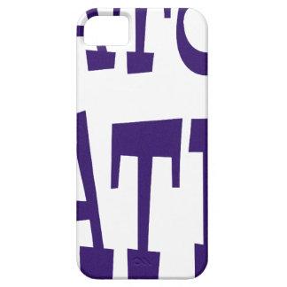 Diseño azul del enemigo del cocodrilo iPhone 5 cárcasa
