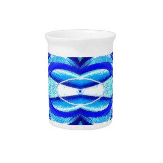 Diseño azul del extracto de Hymonecallis