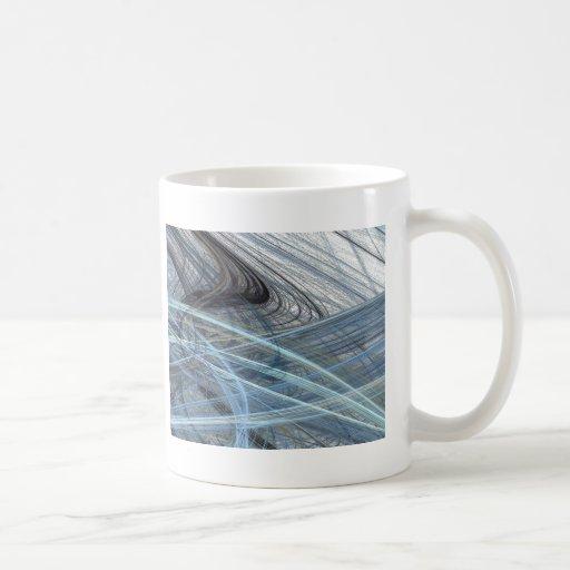 Diseño azul del extracto del ruido como el de un taza
