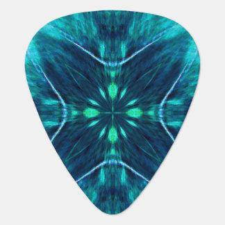 Diseño azul del fractal de la flor plectro