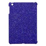 Diseño azul del modelo del arte gráfico de la chis iPad mini coberturas