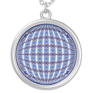 Diseño azul/rosado vibrante del globo del modelo colgante redondo