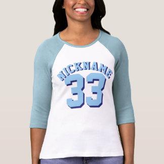 Diseño azul y blanco del jersey de los deportes de